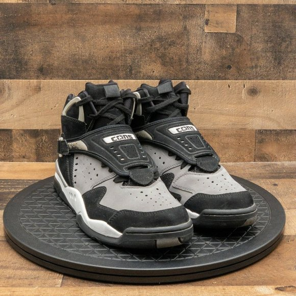 Converse Aero Jam Larry Johnson High Men's Athletic Shoes Basketball Gray Sz 13